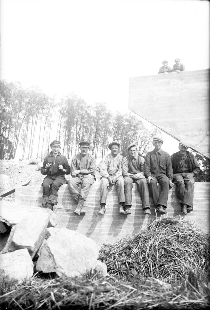 En grupp arbetare i Jönköping.