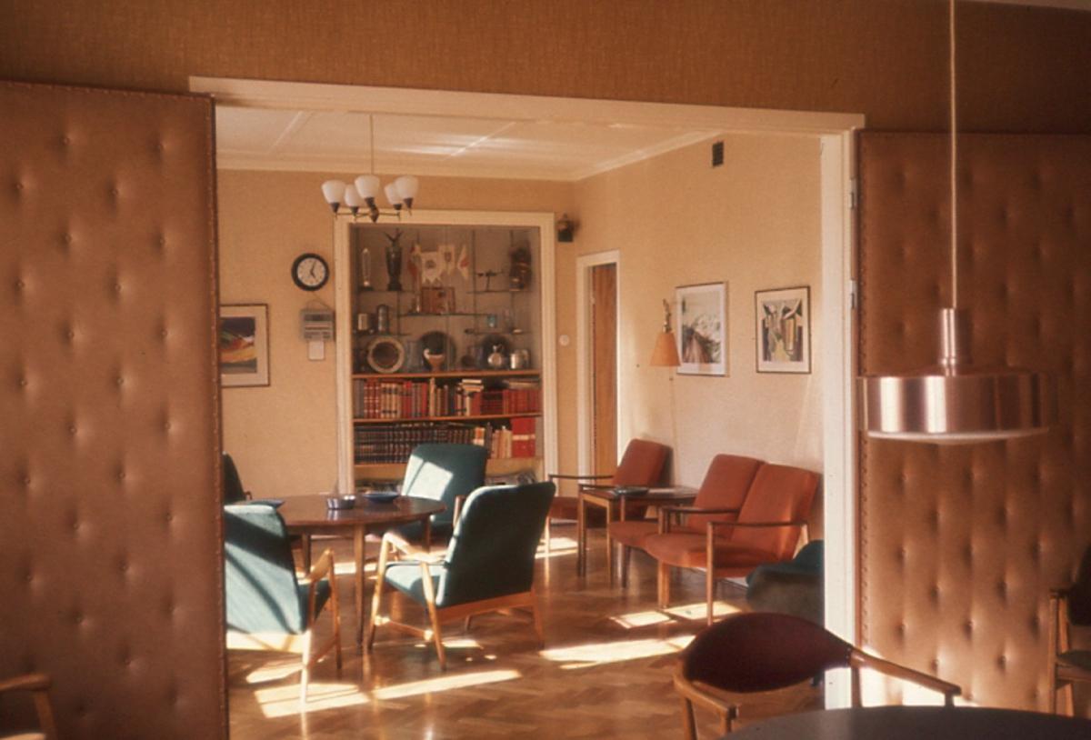 Brandstation 03-77 Lilla torg. Dagrummet på brandstationen.
