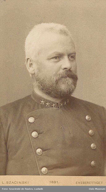 portrett, mann, generalmajor, brystbilde