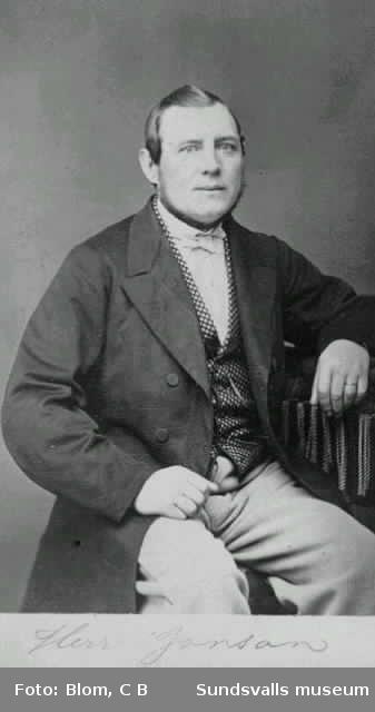 Porträtt på Herr Jonson (el Janson)