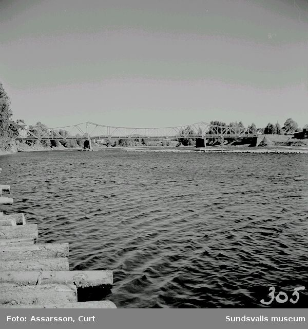Bron över Ljungan vid Viskan.