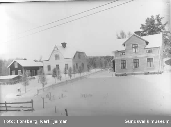 Sundbergs och Forsbergs gårdar.