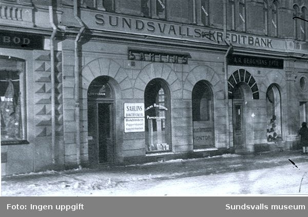 Sundsvalls Kreditbank.