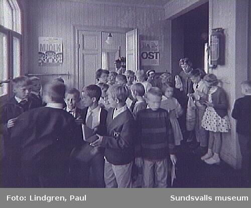Södermalmsskolan. Skolavslutning.