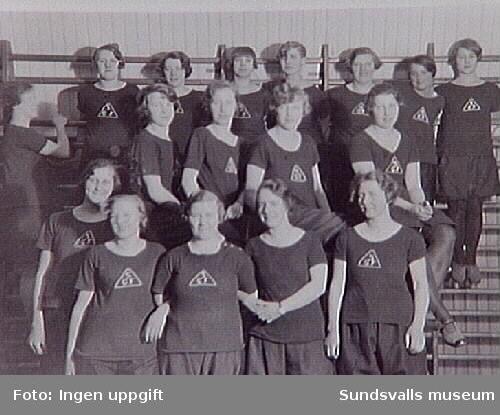 Svartviks kvinnliga gymnastiksförening.