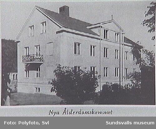 Album tillägnat fattigvårdssyssloman Bernhard Salomon 1941.
