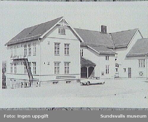 Essviks gamla skola.