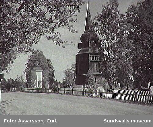 Klockstapeln i Borgsjö.