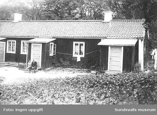 Äldre bebyggelse efter Holmgatan.