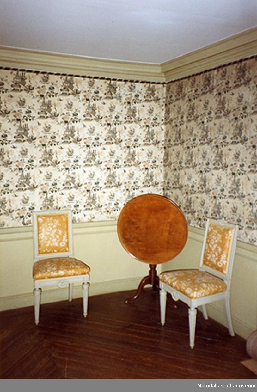 """Gästsängkammaren eller """"Kinesen"""" (rum 47), cirka 1993."""