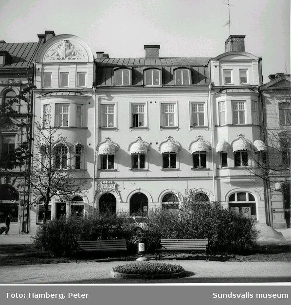 Sjömanshemmets annex, Sjögatan 10. Ritat av stadsarkitekt Nathanael Källander, uppfört 1907.