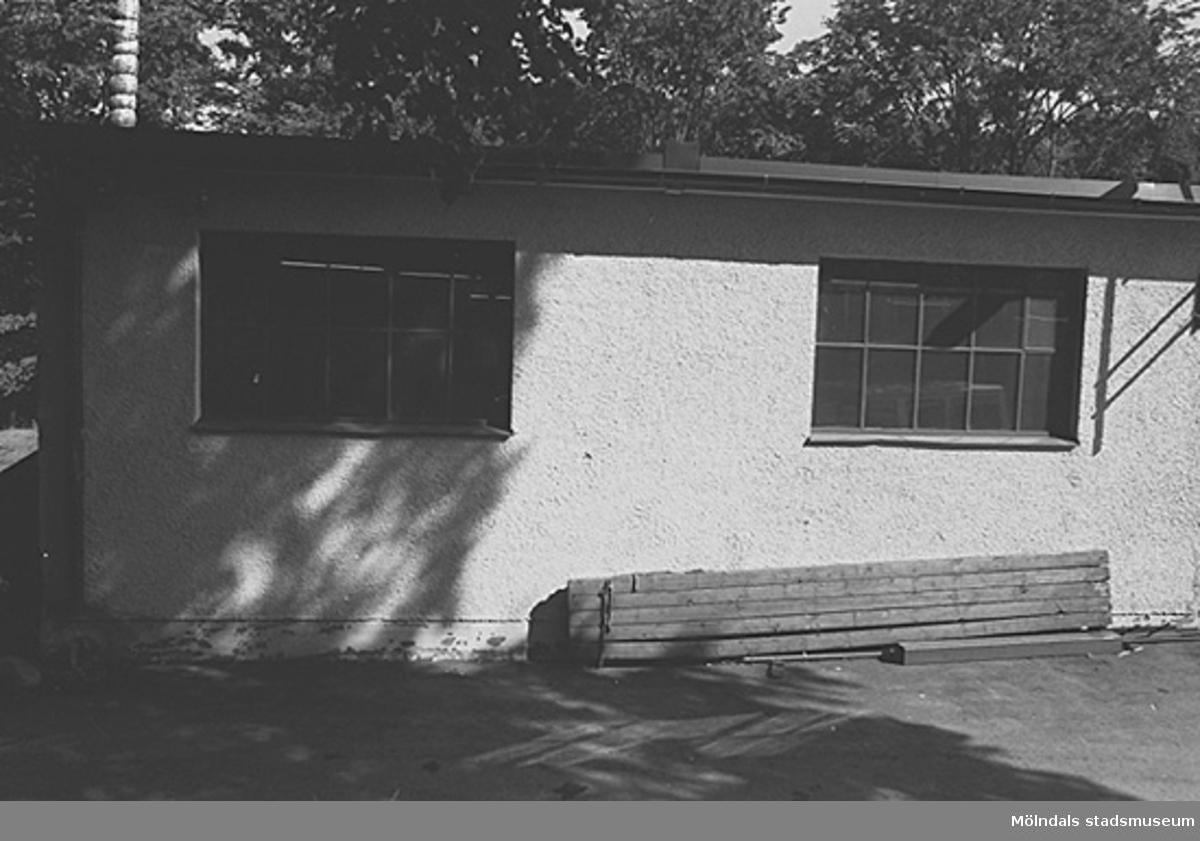 Byggnadsdetaljer: Fönster. Hösten 1994.