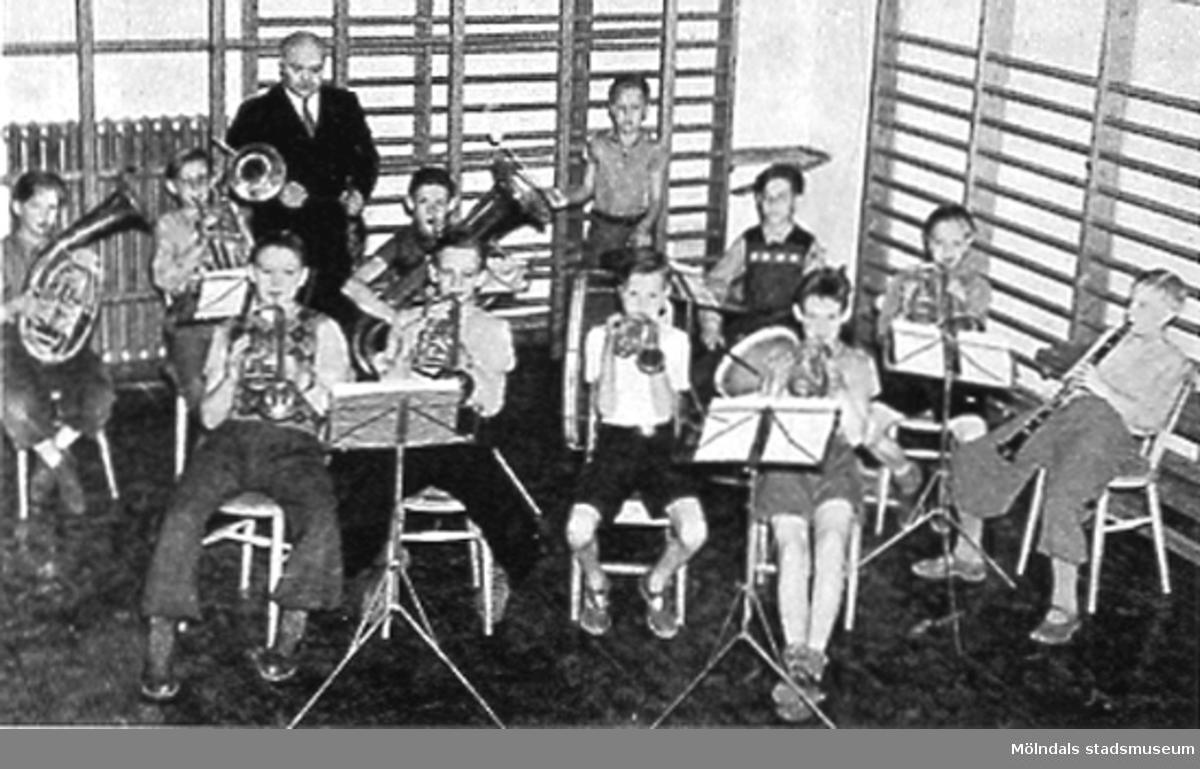 Musikundervisning i skolan.