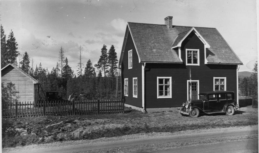 Poststationen i Porsi inrättades 1931 och drogs in 1968
