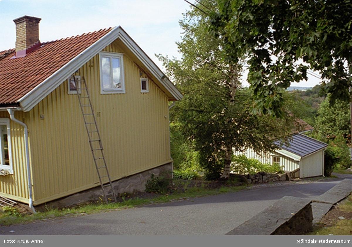 Brant terräng i Kvarnbyn.