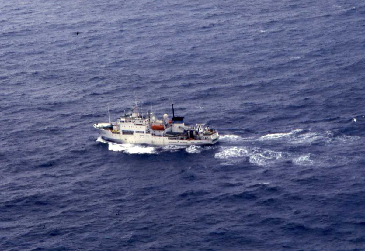 Russisk fartøy av Akademik Shuleykin - klassen.