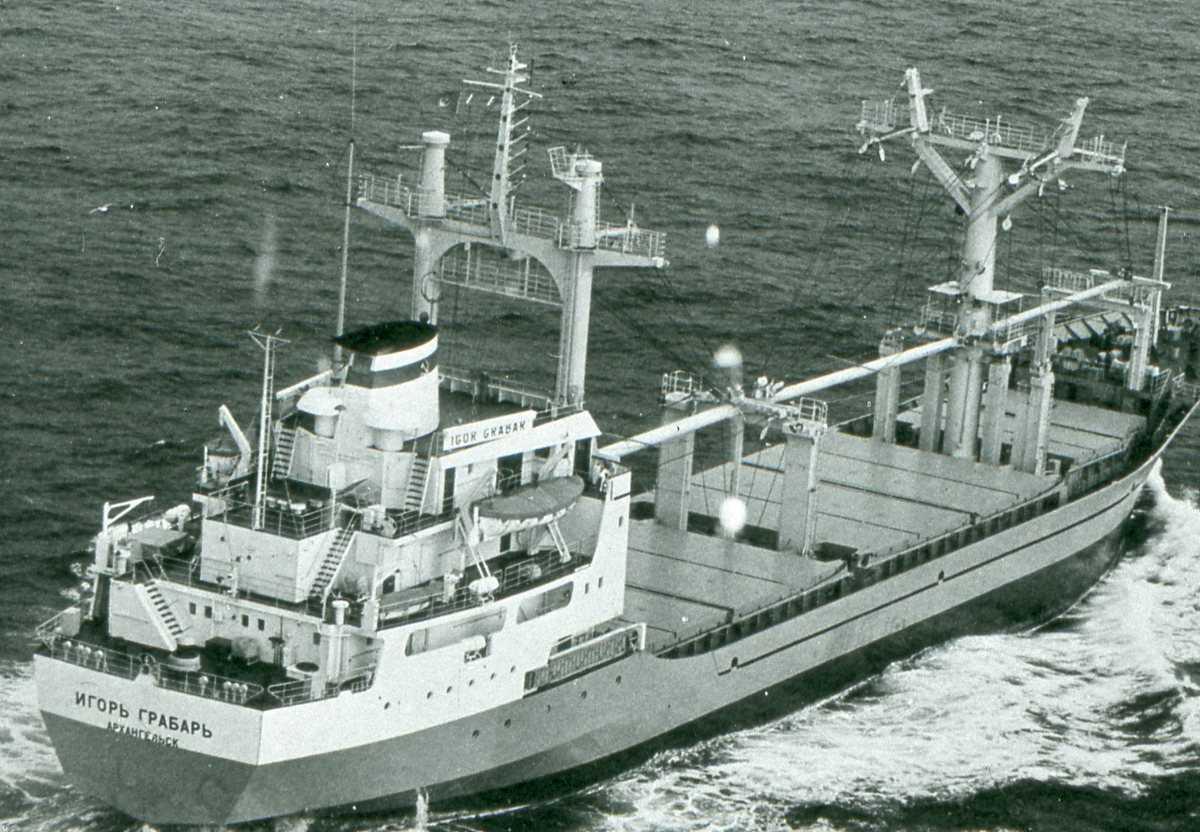 Russisk fartøy av Igor Grabar - klassen som heter Igor Grabar.