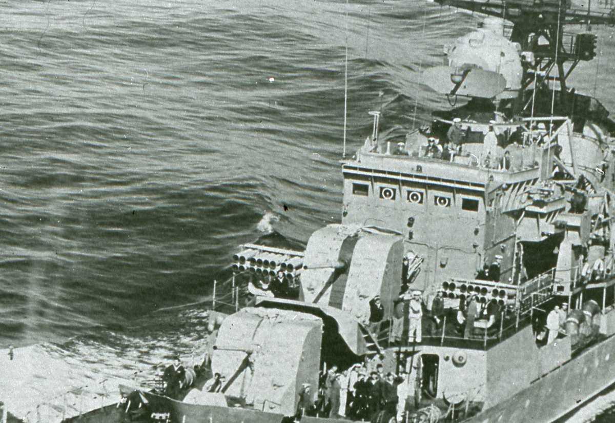 Russisk fartøy av Riga - klassen.