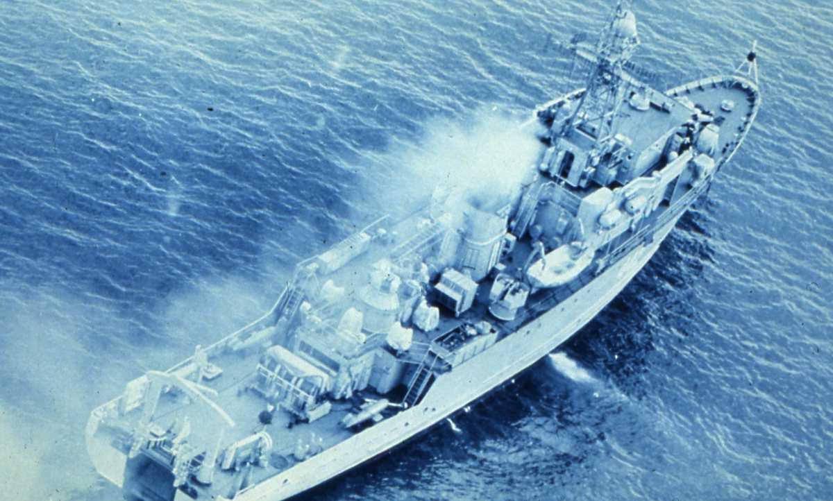 Russisk fartøy av Yurka - klassen.