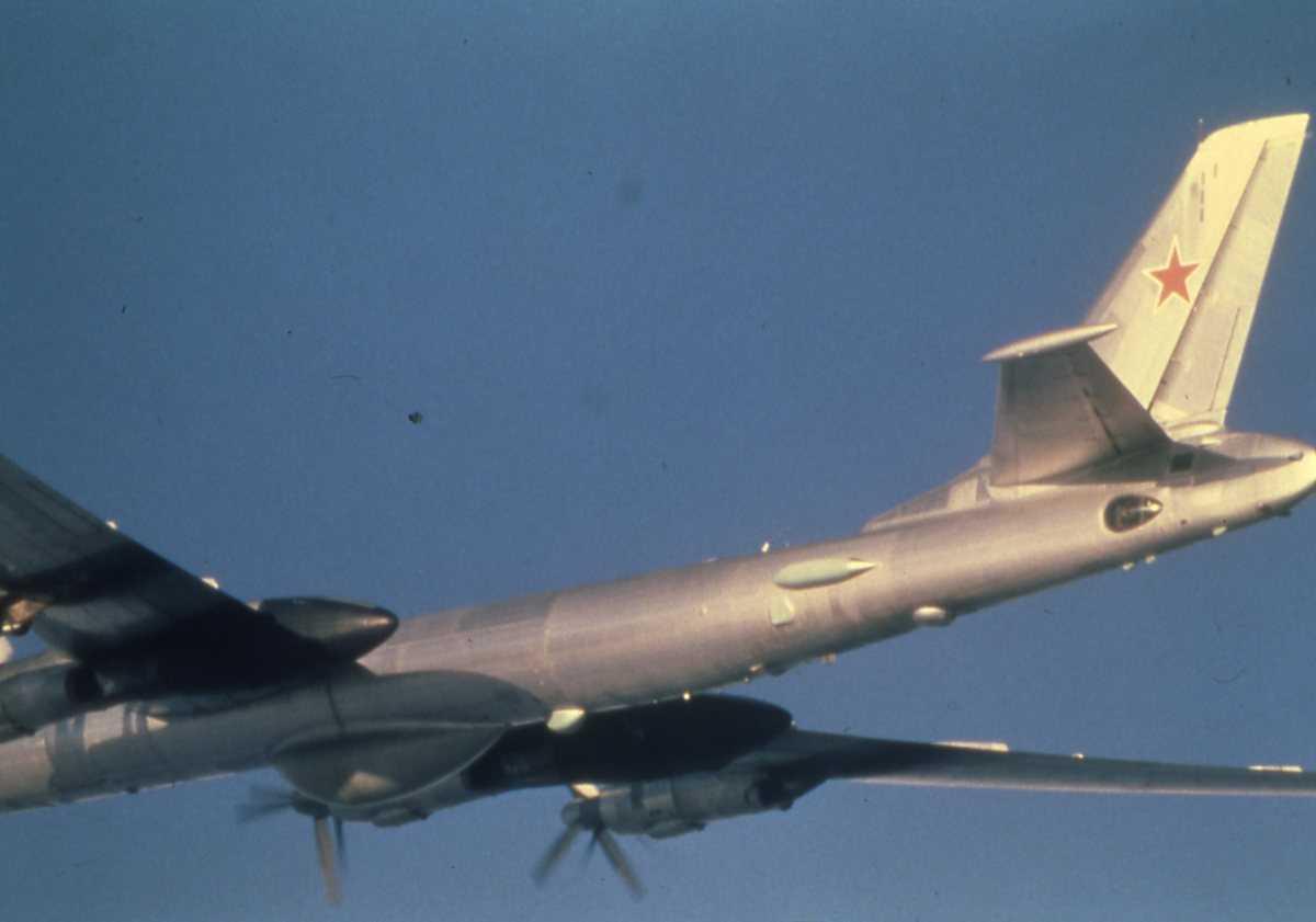 Russisk fly av typen Bear D Modifisert.