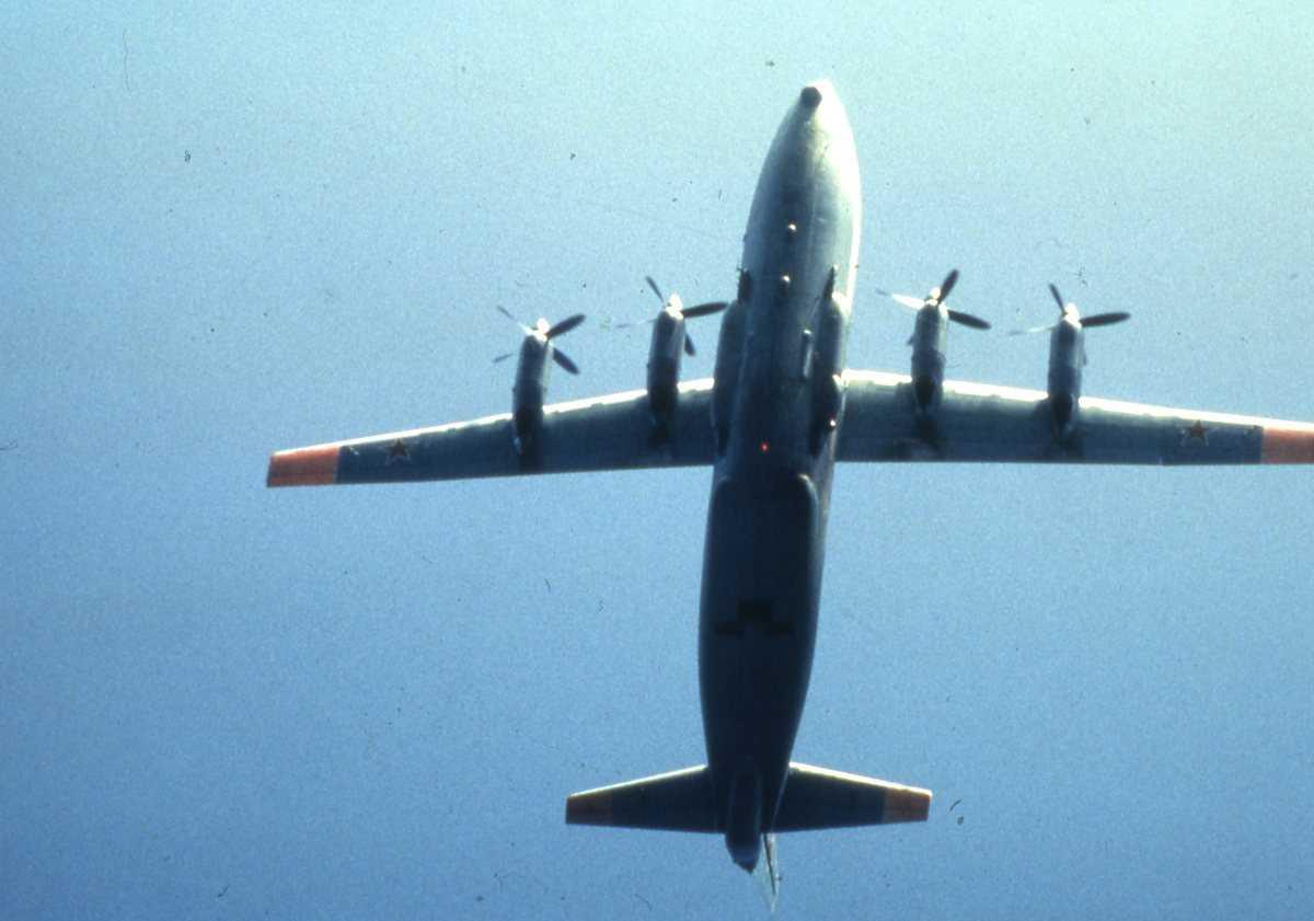 Russisk fly av typen Cub med nr. 15.