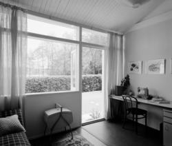 villa Ahnborg Interiör, vardagsrum med syplats vid fönsterp