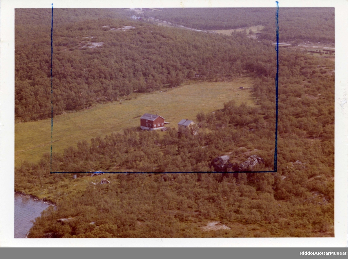Áibmogovva, Porsáŋggu gielda. Flyfoto, Porsanger kommune.  Ilmakuva,  Porsangin komuuni.