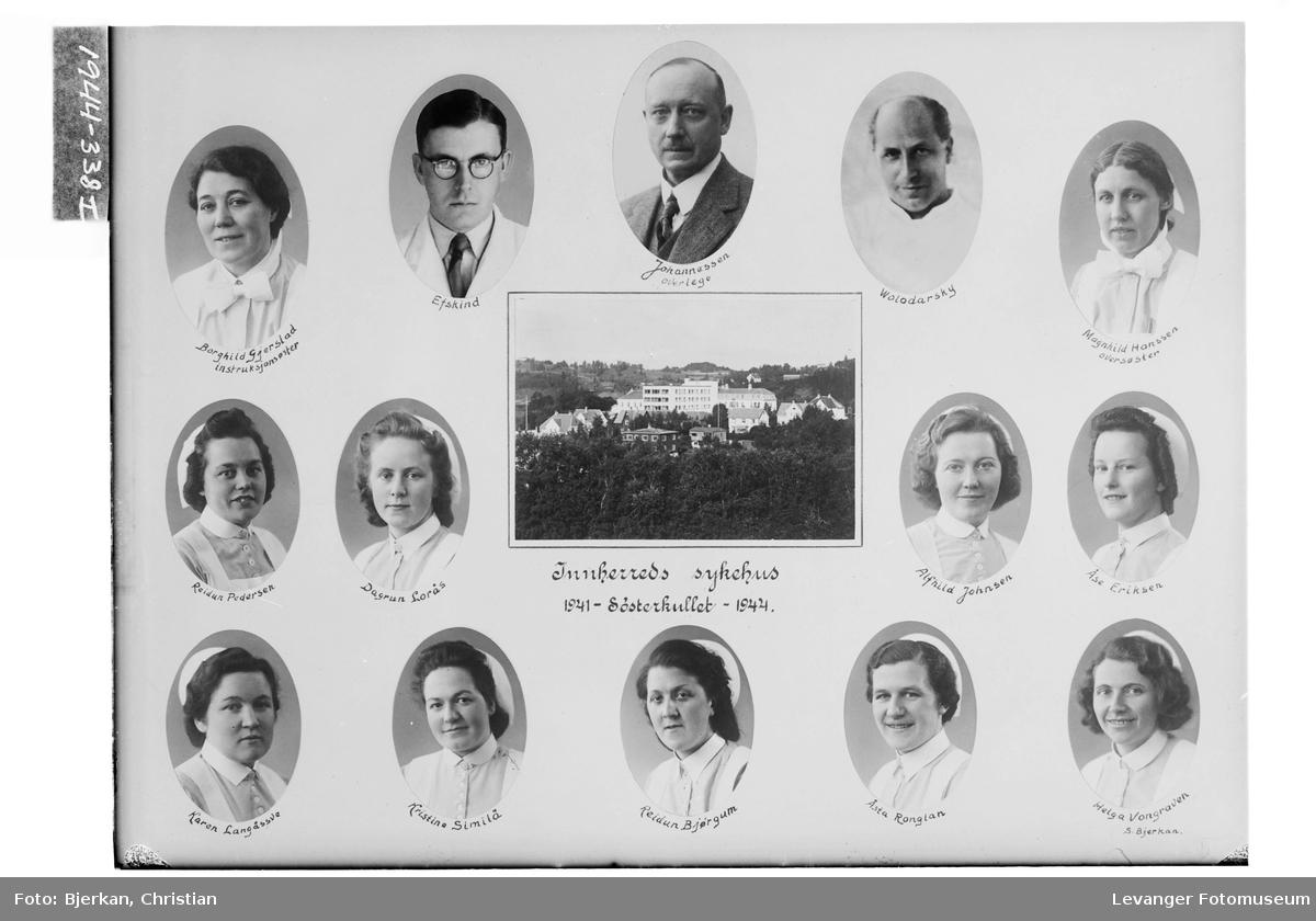 Søsterkullet ved Innherreds Sykehus 1941-44