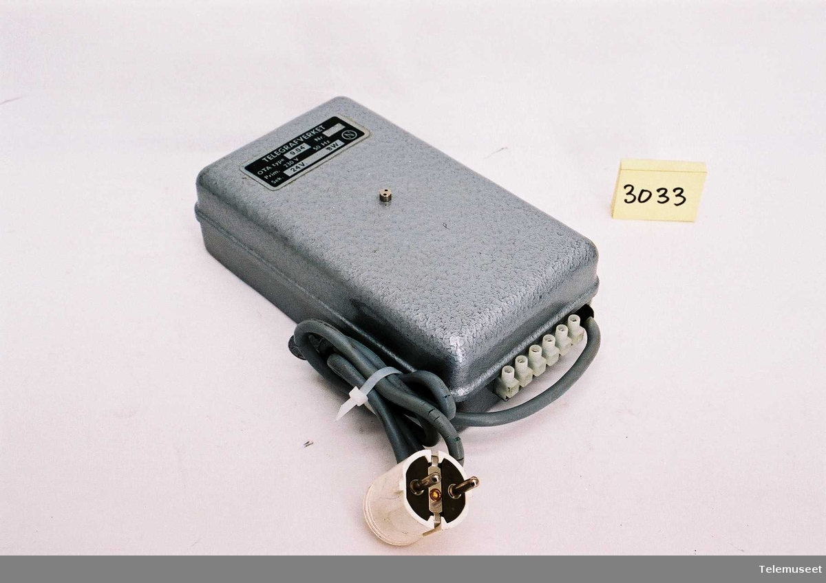 Utstyr til optisk opptattsignal OTA 9.04