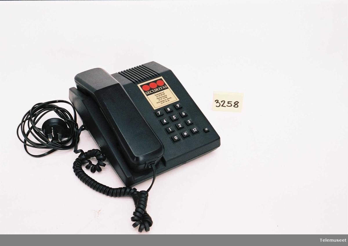 Automatisk Tastafon. Tonesignalisering 1/DBGR 101112