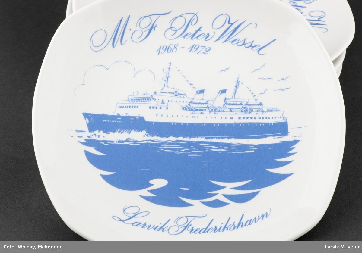 M/F Peter Wessel  1968-1972. Larvik Fredrikshavn.