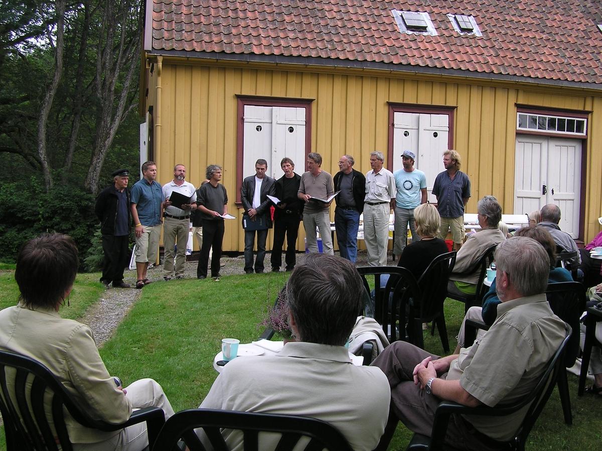 Bursdag til Henriette Marie  Homann på Berg-Kragerø Museum 22.08.2005