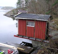 Badehuset fra Skåtøy