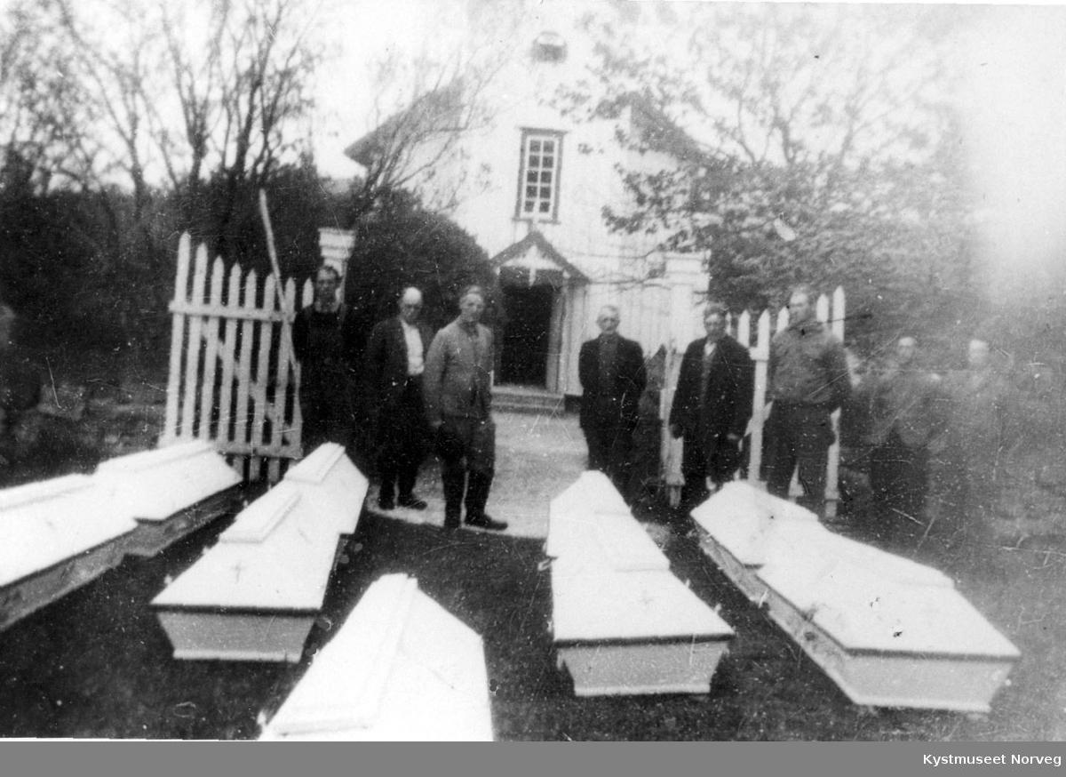 Flatanger, oppgravd russegrav fra krigen