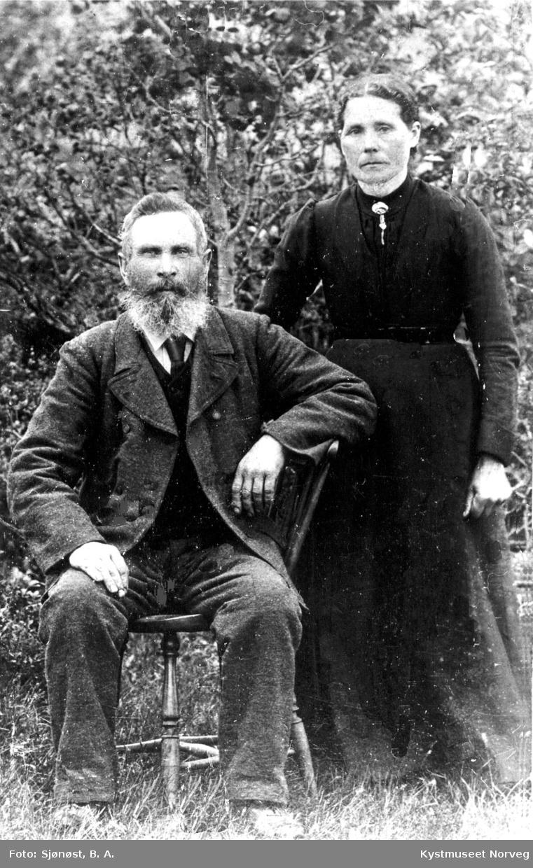 Oline og Julius Markussen