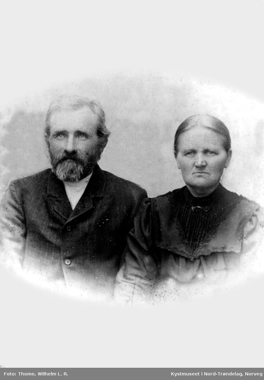Petra Justdatter og Peder Kristiansen