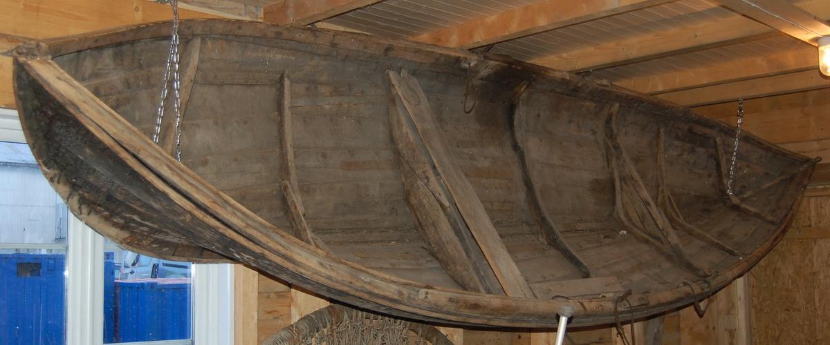 Klinkerbygd færing bygd i tradisjonell form.
