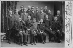 """Enligt text skrivet på kopian: """"1890 års abitur""""."""