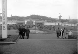 Besökare på Uddevallautställningen 1928