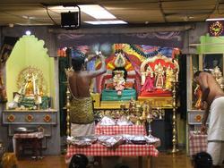 Hinduisme, Sivasubramanyar Alyam, tempel, interiør, Divali,