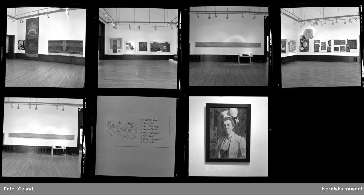 Utställning i Liljevalchs konsthall av Handarbetets Vänner.