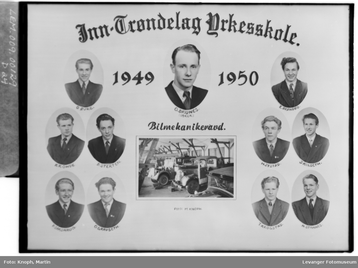 Inn-Trøndelag Yrkesskole Bilmekanikeravd.