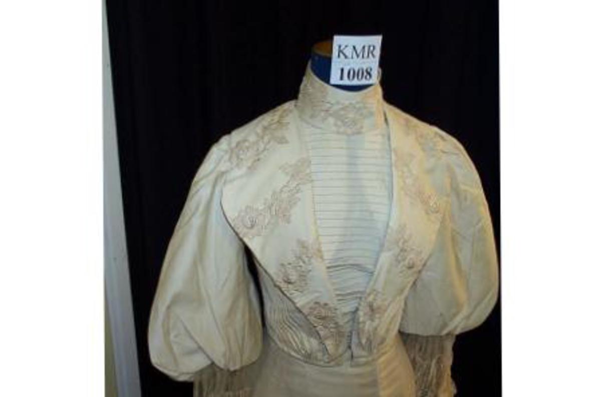 1898–1900 US | Tøj, Kjoler og Antikken