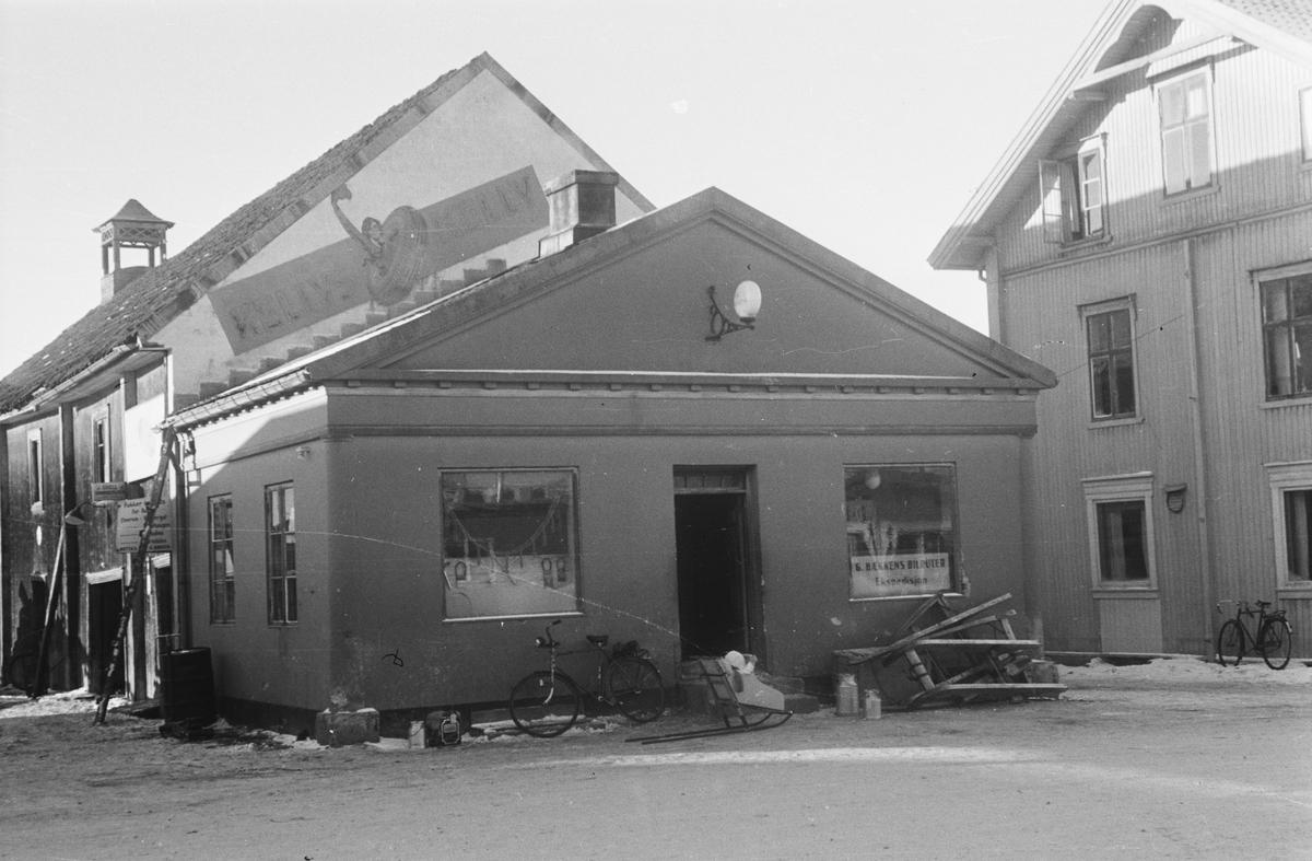 Shell-stasjonen ved Østmoehjørnet. Elverum.