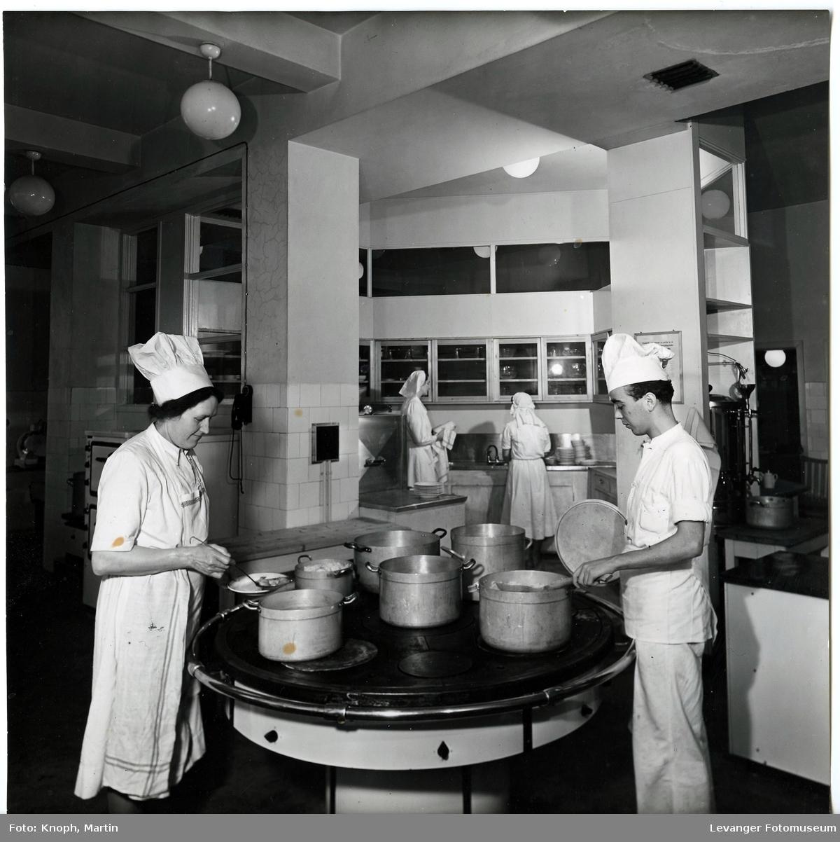 Kjøkkenet ved Grand Hotell