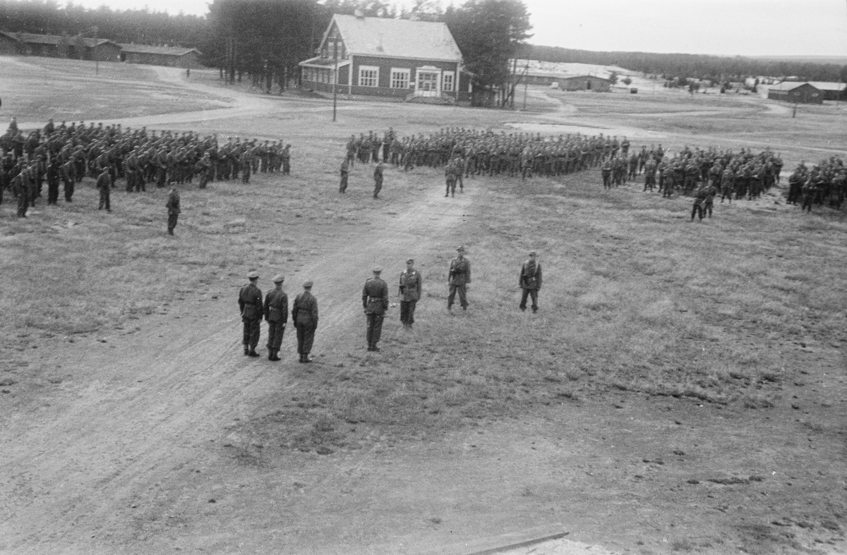 Soldater på Terningmoen. Elverum.