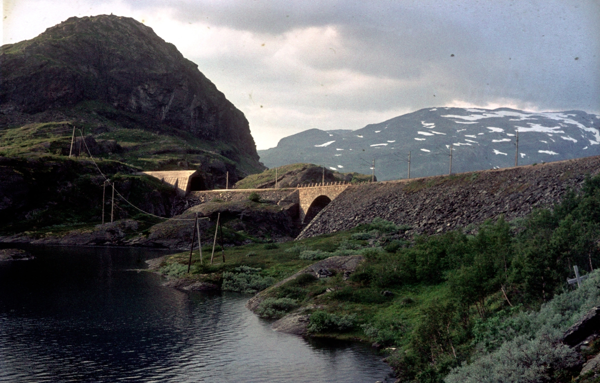 Langs Rallarvegen ved Kleiva bro.