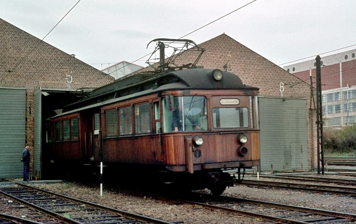 A/S Holmenkolbanen. Vogn 112, type 1935. (Skabo, Siemens Schuckert)