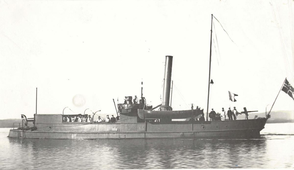 Motiv: Kanonbåt 2. kl Gor  - trolig Wilse