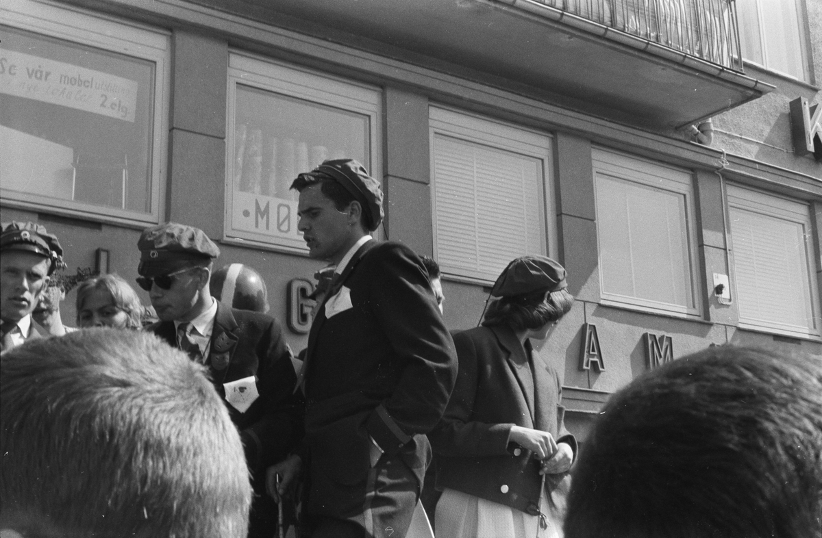 17. mai. Elverum. 1960. Russen.